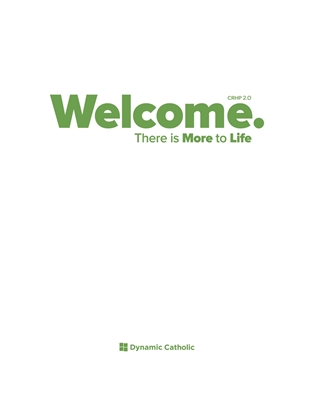 Picture of Welcome Dry Erase Poster